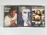 Lot Of 3 Burt Bacharach Cassette Tapes