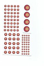 Battletech miniatures Clan and IS Insignia decals- Davion/ Federated Suns