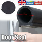 16ft Universal Car Door Seal Strip Hollow Edge Guard Weatherstrip D-shape Rubber