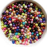 Lots Mixed Glass Pearl Round Loose Spacer Bead Jewelry Finding 4/6/8/10/12mm DIY