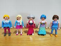 Playmobil Women Figures x5 Bundles