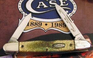 Case Eisenhower Knife 1989 From Centennial Set Strictly 1 2 Carry Serial #001 NR