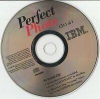 Classic Pc Software - IBM Perfect Photo (1998) - Windows 95, Windows 98, Windows