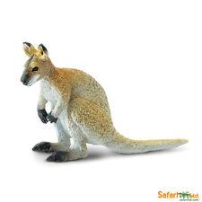 Wallaby 9cm Serie Animales Salvajes Safari ltd 224929