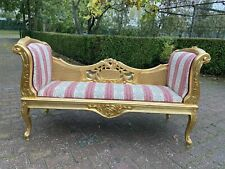 French Louis XVI Style Settee/Bench/Sofa