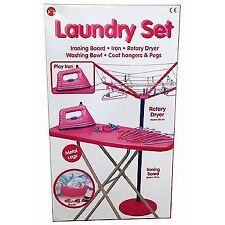 Kids Children Magical Iron Ironing Board Set Laundry Role Play New set