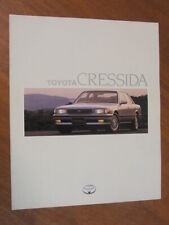 1990 Toyota Cressida original Australian large format 20 page brochure