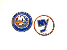 NHL New York Islanders Golf Ball Marker Enamel Metal Team Logo 2 Sided Hat