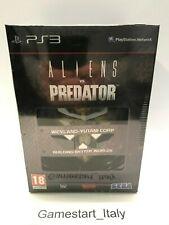 ALIENS VS PREDATOR HUNTER COLLECTOR'S EDITION PS3 - NUOVO SIGILLATO NEW PAL ITA