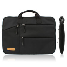 Best 15.6 Inch Slim Laptop Sleeve Bag Case with Small Pockets for Laptop Charger