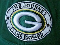 Green Bay Packers The Journey Is The Reward NFL OSFM Adjustable Cap Hat