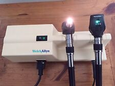 Welch Allyn 767 Transformer Model 76710 W/ Otoscope 25020 & Ophthalmoscope 11720