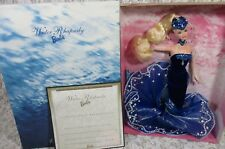Water Rhapsody Barbie Doll Blond Hair Essence of Nature Collection NEW In Box