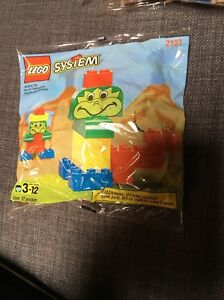 LEGO FreeStyle #2121 Sealed bag 11 Pieces  1997 Ages 3-12 Rare HTF