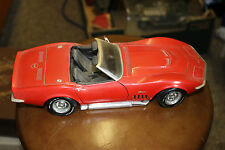 VINTAGE 1992 REVELL 69 CORVETTE CAR 1/18 SCALE