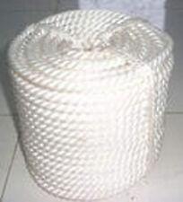 "1/2""x50' Twisted Three Strand Nylon Anchor Rope Thimble"