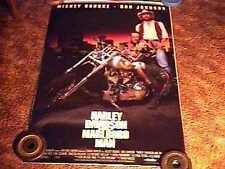 HARLEY DAVIDSON MARLBORO MAN ROLLED MOVIE POSTER BIKER