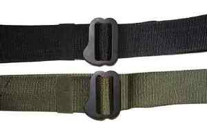 2 x BDU M8 EASIER TACTICAL BELT 45mm OLIVE or BLACK RRP$47.90 HUNTING HIKING