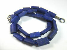 WOW MATTE FINISH Rectangular NATURAL LAPIS LAZULI Beads Strands Afghanistan