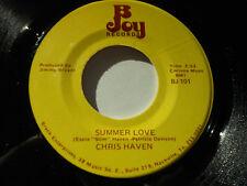 CHRIS HAVEN VG++ Summer Love 45 You're Gonna Miss Me B Joy Records BJ-101