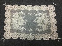 Embroidery Handmade Beaded Embroidered Table Placemat Wedding Party Victorian