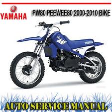 YAMAHA PW80 PEEWEE80 2000-2010 BIKE FACTORY WORKSHOP SERVICE REPAIR MANUAL ~ DVD