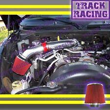 00 01 02 03 04-10 DODGE DAKOTA DURANGO RAM 1500 V6 V8 AIR INTAKE KIT Red S