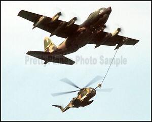 NYANG C-130 Hercules H-3 Jolly Green 102nd ARRS 106th RG 1981 8x10 Photo