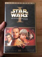 Star Wars Die Dunkle Bedrohung VHS Kassette JETZT PAYPAL VERFÜGBAR