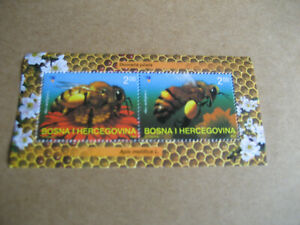 BOSNIA & HERZEGOVINA   2004  FAUNA: HONEY BEE (Apis mellifica) SOUVENIR SHEET