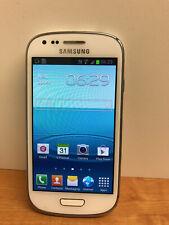 Samsung Galaxy s3 Mini Handy Marble White-Orange Netz - 8gb