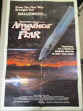 Vintage 1 sheet 27x41 Movie Poster Appointment with Fear 1985 Michele Little