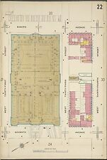 1911 SANBORN PENNSYLVANIA STATION, MANHATTAN, NEW YORK COPY PLAT ATLAS MAP 18X27
