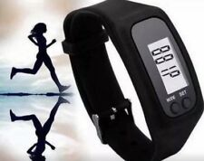 Sports Pedometer Watch Step Counter Fitness Tracker Walking Running Exercise