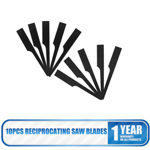 10 PACK CARBON STEEL RECIPROCATING AIR BODY CUT OFF SAW BLADES HACKSAW BLADE 18T