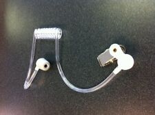 High Noise Clear Acoustic Tube Snap On Ear Piece for Headset Motorola Kenwood