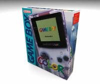 Caja vacia Game Boy Color Transparente (incluye el cartón interior) | empty box