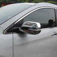 For Honda CR-V CRV 2012 -2016 Chrome Backup Mirror Rearview Mirror Cover Trim