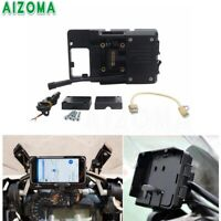 Phone Holder GPS Bracket Mount Charger For Honda CRF1000L Africa Twin CRF1000L