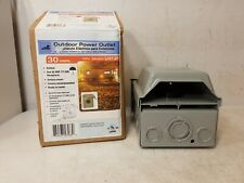 Midwest Electric Products 30 Amp Surface Mount Outdoor RV Power Outlet [O]