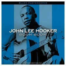John Lee Hooker Boom Boom 3LP Gatefold Set on GRAY Vinyl Record 42 Great Tracks