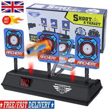 Electric Scoring Auto Reset Shooting Digital Target for Gun Toy Kids Gift A