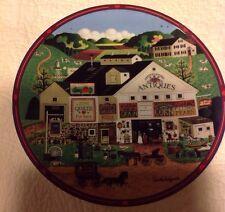 Peppercricket Farms Grove Plate, Bradford Exchange Charles Wysocki, 1993 #19655