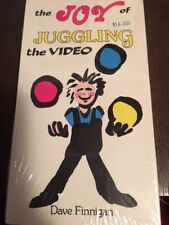Shop~Vhs Tape Morris The Joy Of Juggling The Video by Dave Finnigan