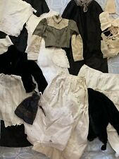 Antique Clothing Lot Victorian Edwardian 1800s 1900s 1910s As-Is Fixer Resale