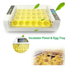 24 Eggs Incubator Automatic Clear Digital Hatcher Chick Duck Quail Small Animal