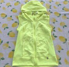 Lorna Jane Neon Activewear Hoodie Jacket, XS