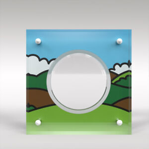 Mr Men Little Miss Five Pound Coin Perspex/Acrylic Display Case