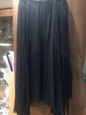 Isabel Marant Etoile Amery Black Chiffon Wrap Skirt BNWT UK12 EU40