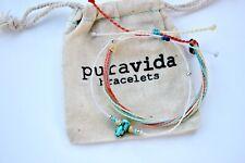 2 Pack Bracelets braided & Viva la vida Turquoise stone beads